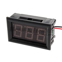 "Digital Only Others Others Wholesale-1Pc Mini Digital Voltmeter AC 60-500V LED Voltage Panel Meter 0.56 ""LED 2 Wire"