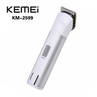 Electronic Cigarette adjustable hair clippers - KEMEI KM Electric Hair Clipper Trimmer Rechargeable Shaver Razor Cordless Adjustable Clipper with Limit Comb Adjustor