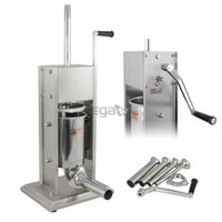 Wholesale Commercial Sausage Stuffer LB Two Speed L Vertical Stainless Steel Meat Press