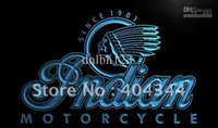 advertising services - LG190 TM Indian Motorcycle Services Logo Neon Light Sign Advertising led panel