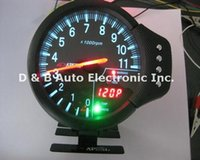 Wholesale High Quality In Multi Function Racing Car Tachometers Gasoline Auto Tuning Gauges Speedometers
