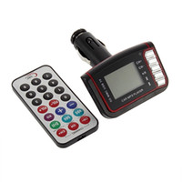 Wholesale in1 Car MP3 Player Wireless FM Transmitter Modulator USB CD MMC Remote