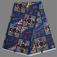 african print material - New arrival party clothing material African wax fabric print super wax material yards NWF106