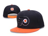 ball flyer - new style arrived Leather hat Philadelphia baseball cap Flyers baseball Snapback Black hockey hats hockey men women cap