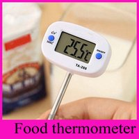 5 Mega barbecue thermometers - TA288 Food Thermometer Pen Needle Thermograph Probe Type Electronic Digital Temperature Meter Barbecue Liquid Oil thermometer Hot Sales