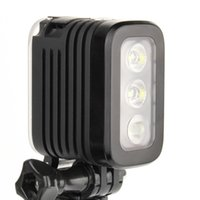 Wholesale GoPro Accessories Waterproof LED Flash Light Spot Lamp for GoPro Hero Hero Session SJCAM Yi Camera