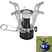 Wholesale High quality is suing camping Picnic barbecue Stoves portable mini electronic ignition
