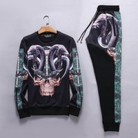 Wholesale PP high quality Winter Men sweat suit Outdoor sports jogger Set Cotton Brand fashion Sweater size S XXXL style
