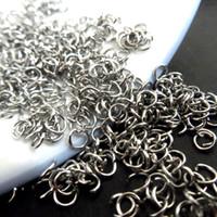 Jump Rings & Split Rings Traditional Charm Circle 0.6*4mm small Jewelry Findings Jump Rings & Split Rings Unisex DIY tool 200pcs
