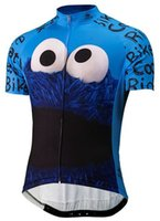 Wholesale summer men cookie bicycle exercise cycling clothing thin wicking cycling jersey XS XL