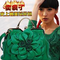 discount designer handbags - Woman bag FASHION BAGS Handbags Shoulder bags Crossbody handbags Rose flowers Leisure wild Handbags designers Discount handbags