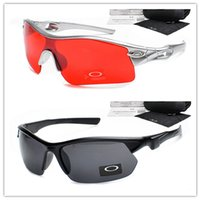 Wholesale Oversize Women Sunglasses Polarized Sun Glasses for Men Colorful Mirror Lenses Brand Box