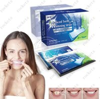 whitening tooth paste - 14 Pouches Stripes Professional Home Teeth Whiting Strips Whitening Paste Oral Hygiene Teeth Tooth Whitstrips