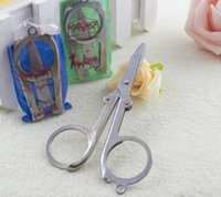 Wholesale Folding scissors Medium trip scissors carry on portable small scissors small tools L4B206