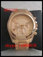 best stainless steel set - TOP QUALITY BEST PRICE New Jet Set Stainless Steel Chrono Ladies Watch MK5263 MK5165 MK5166