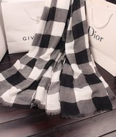 Wholesale Fahion Newest Winter Scarf Women Plaid Scarf Shawls Brand Scarves For Women Thick Imitation cashmere Neck Warmer S2001