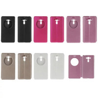 asus cheap - fashion window PU leather flip leather case cover skin for Asus ZenFone ZC551KL cheap flip cover