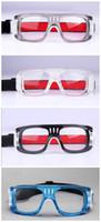 Wholesale new Men Anti fog soccer basketball glasses bendable soccer glasses protective football goggles flexible sports eyewear basketball eyeglasses