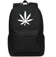 best daypack backpack - Hemp fimble leaf backpack Best school bag Designer daypack Hot schoolbag New game play day pack