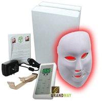 Wholesale Photon LED Mask with LED for Acne Removal Skin Rejuvenation Pigmentation Correction