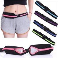 bags for running gear - Running Belt Gear Beast Pockets Unisex Sports Jogging Cycling Waterproof Waist Belt Pack Bag for Running Gym Yoga Marathon Cycling Apple