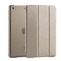 Wholesale Ultra Slim Magnetic Smart Flip Stand PU Leather Cover Case For Apple iPad Mini Retina Display Wake Up Sleep Function