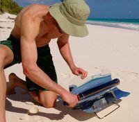 Wholesale New Portable picnic Camping Solar BBQ solar ovens solar grills