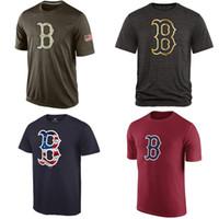 Baseball banner services - MLB Boston Red Sox T Shirts cheap baseball jerseys Banner Wave Salute To Service Tshirts
