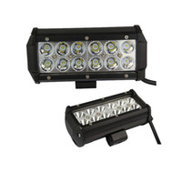 Wholesale 7 quot inch W LED Work Light Lamp for Motorcycle Tractor Boat Off Road WD x4 Truck SUV ATV Spot Flood v v