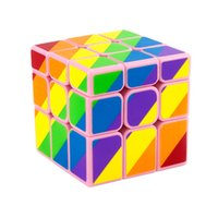 Wholesale YongJun YJ Unequal mm x3x3 Cast Coated Magic Cube Puzzle Cubes Educational Toys For Kids