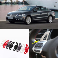 Wholesale Brand New High Quality Alloy Add On Steering Wheel Paddle Shifters Extension For VW CC