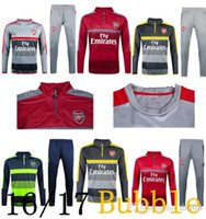 Wholesale 16 Mesut Ozil best quality football training clothes Arlesis Sanchez sportswear Casuala Luo training clothes free delivery