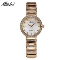 replicas - Hot Sale New Styl Women Watch Dropshipping Replicas Watches Fashion Diamond Lady Gress Famous Brand Miss Fox Quartz Rhinestone High