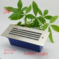 Wholesale w Newest LED underground lamp lighting led corner lights ladder AC110 VAC12 V warm white white