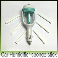 Wholesale Car Humidifiers Air Aromatherapy Nebulizer Humidifier Sterilization sponge stick Water stick