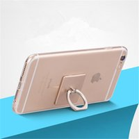 Wholesale Universal Phone Holder For Iphone Mobile Phone Ring Stent Simplest Universal Smartphone Mount For Iphone s Retail Package DHL OTH209