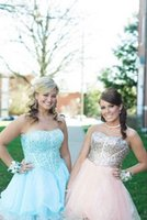 amazing homecoming dresses - Amazing Short Sequin Cocktail Dresses vestidos de baile curto Beautiful Sweetheart Beaded Homecoming Dresses Hot Sale