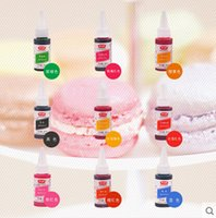 baking ingredients - Baking ingredients edible pigment rainbow cake decorating double sugar Color marca dragon