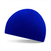 Wholesale Short Hat Army Caps - Wholesale Winter hats solid Pinstripe short style fashion cap men hats outdoor sport ski cap beanies knitted Hat