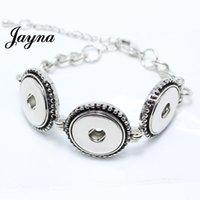 Wholesale charm snaps buttons bracelet interchangeable ginger snaps buttons bracelet Fit mm snaps buttons ginger snaps jewelry GS1201004