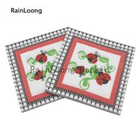 bee napkins - RainLoong Beverage Paper Napkin Bee Festive Printed Serviettes Tissues Decoupage Table Decoration cm