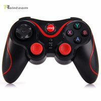 Wholesale 2016 New Wireless Joystick Gamepad Gaming Controller Remote Control for Mobile Phone Tablet PC TV Box Holder Included