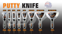 Wholesale 2016 New pc Putty knife set paint tool hand tool set plastic handle high quality scraper Sedy Company