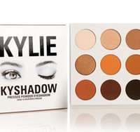 Wholesale High quality HOT NEW Kylie Jenner Kyshadow Pressed Powder Eyeshadow Kit Colors Eye Shadow Palette DHL