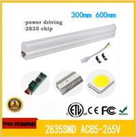 Wholesale 1ft ft ft ft ft ft led t5 tube lights Cooler Lighting Integrated CREE Led Lights Tubes Bulbs AC V Warranty Years