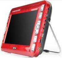 achat en gros de vcd lecteur vidéo-Le plus vendu SAST 96211W pouces portable EVD machine de jeu vidéo machine à chant microphone avec lecteur DVD TV