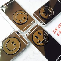 apples icon - Korea style cute emotion icon mirror back cover mobile phone cases for iphone s SE iphone plus price