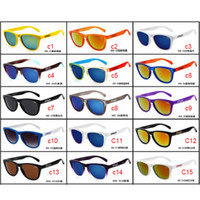 half frame glasses - Brand Sunglasses OKL555 Summer Sun Glasses for Men Sport Spectacles Cycling Sunglasses optical frame dazzle color mirrors free DHL