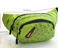 Wholesale Fashion Outdoor Leisure Multifunctional Sports Bag Waist Bag Walllets For Men Women Fanny Pack Free DHL