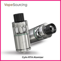 auto glass systems - Authentic Wismec Cylin RTA Atomizer Kit with ml e Juice Capacity with an Auto Dripping System Notch Coil Cylin RTA Tank